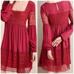 Flarest Dress Anthropologie Size 14